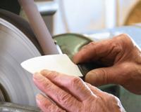 ostrzenie kuchennych noży ceramicznych Kyocera